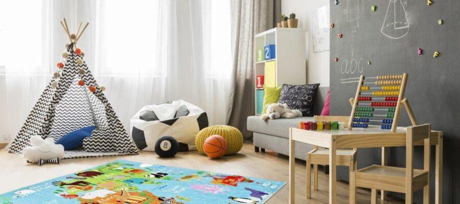 Najlepszy dywan do pokoju chłopca